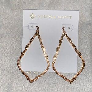 NWT rose gold Sophee earrings